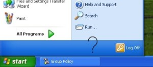 How to Remove Shutdown option from Windows XP