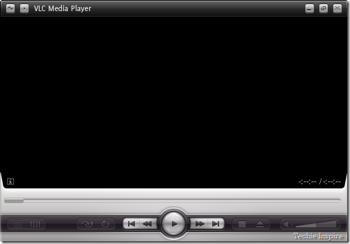 Default VLC Media Player Skin