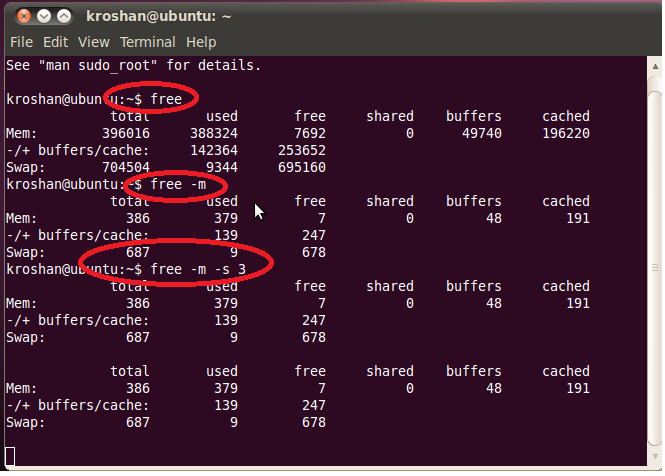 How to check Memory Usage in Linux via Command Line (Ubuntu)
