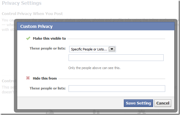 lock down facebook custom privacy 2