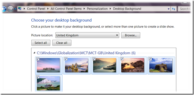 windows 7 united kingdom theme