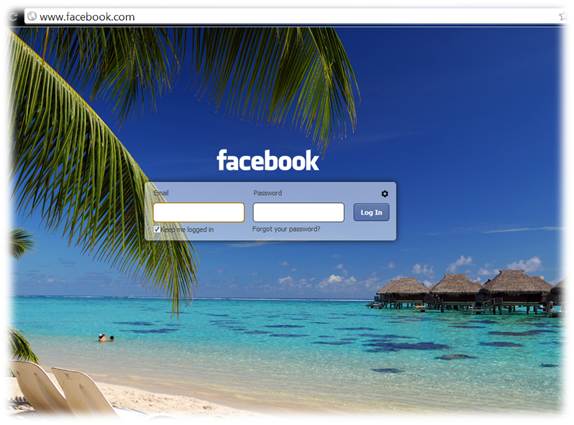 How to change facebook login screen background fb fresh extension states that it does not affect your any other part of facebook and it never stopboris