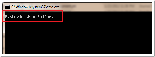 Command Prompt using Right-Click Menu2
