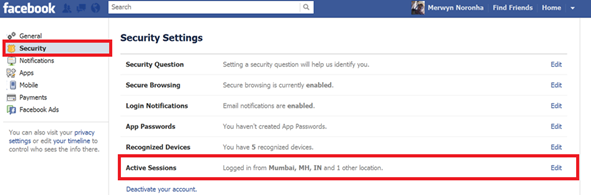 How to Check Your Facebook Account is Hacked Or Not