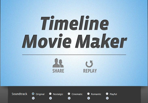 How to Create Facebook Timeline Into A Movie