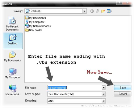 How to Hack Your Cd Drive using VB Script Code