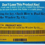 Find Windows XP Key Inside Cd (Revealed)