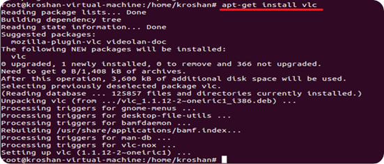 Installing Application using Package in Ubuntu from Internet