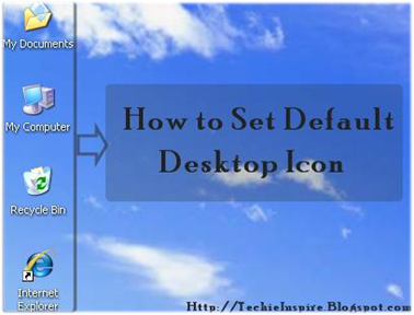 DESKTOP DEFAULT ICONS XP