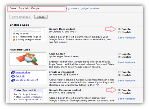 How To Add Google Docs and Google Calendar to Gmail Sidebar