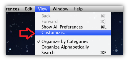 hide unwanted System Preference icon in MAC OS X