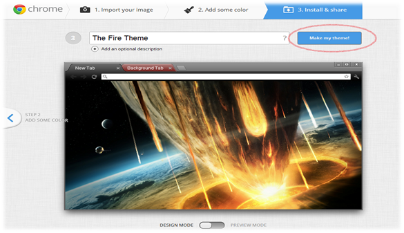 Name chrome themes