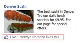 Facebook Ads likes