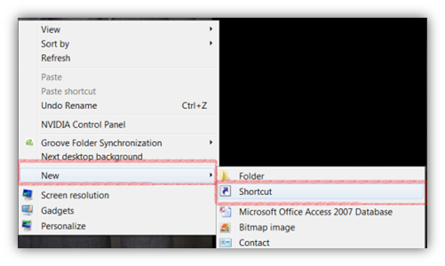 how to find run command in windows 7