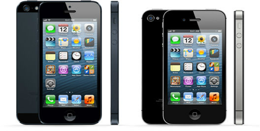 Comparison of iPhone 4S Vs iPhone 5