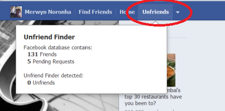 how to see who has deleted you on facebook