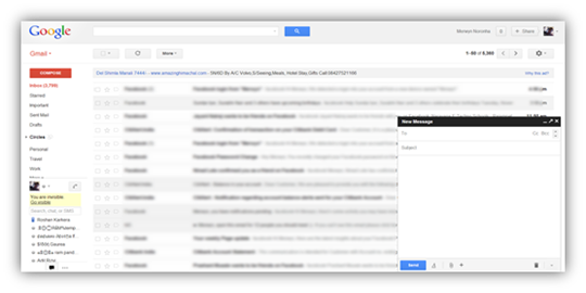 how to see you achived emails in gmail