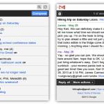 Gmail gets a new look update for feature phones