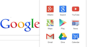Google rolling out its New Navigation menu replacing old black bar Navigation menu
