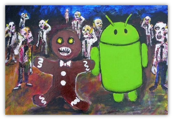 Android 2.3 Gingerbread Easter Egg