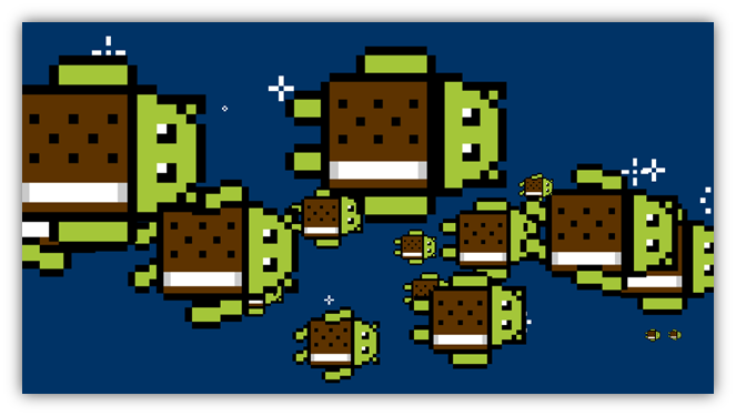 Android 4.0 Ice Cream Sandwich Easter eggs