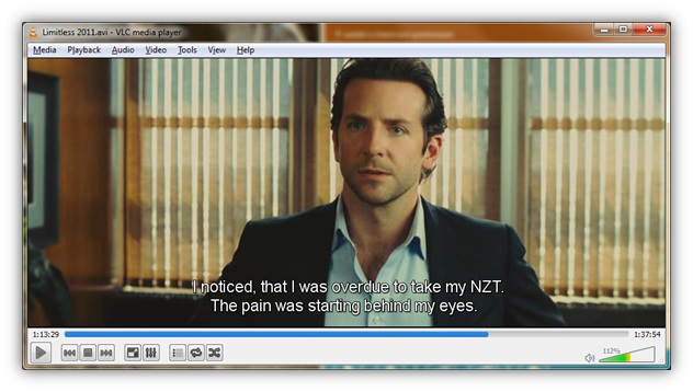 Subtitle on VLC Player