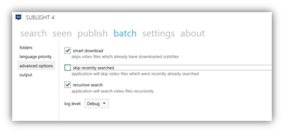 Download subtitles automatically in batch