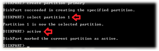 select partition 1